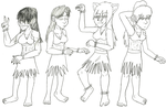 Hula Dancing by Mizz-Swagnificent