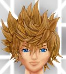Roxas all done by MeganSora