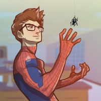 Peter Parker by antzvu