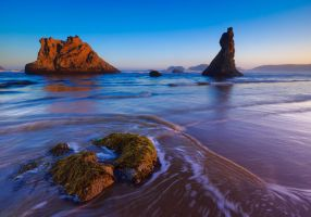A Peaceful Morning in Bandon by coulombic