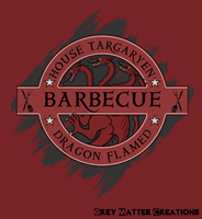 House Targaryen BBQ by greymattercreations3