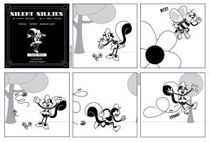Silent Sillies 082 - Sally 'loves' nature pt 1 by JK-Antwon