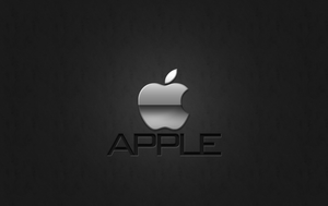 Apple Wallpaper SILVER by 1madhatter