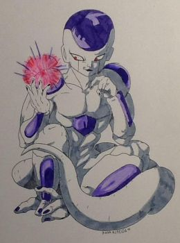 Freeza from Dragon Ball Z by Candy2012