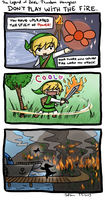 Zelda PH silly comic by Puffsan