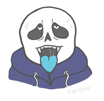 ahegao sans by dreamscapers