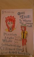OP OC: To Where the Compass Ends: Finnian A. White by MewStar13