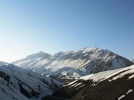 Alborz Mountain by amirkhajouie