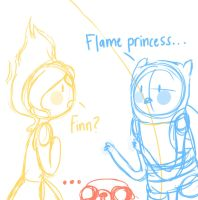 Finn and the Flames by Lansoh