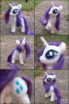Posable Needle Felted Rarity by SnowFox102
