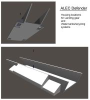 Defender-Landing gear and water/recycling housings by mdbruffy