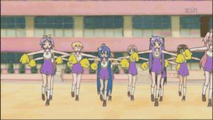 Lucky Star Cheerleaders by De3pBl4ck