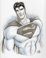 Superman by PatrickFinch