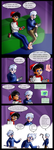 Jack Frost and Danny Phantom: socks by chillydragon