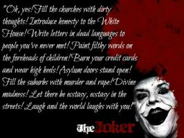 Joker Quote by jokercrazy
