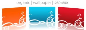 organic wallpaper by thegenome