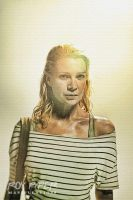 The Walking Dead: Andrea: Sketch Re-Edit by nerdboy69
