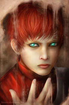 Gaara of the Sand by Suixere