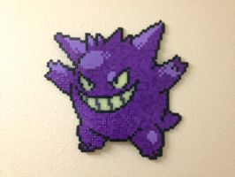 Gengar - Fuse Beads by chocovanillite