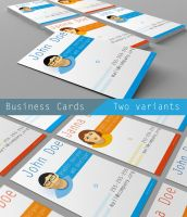 Business Cards. Two variants by alexanderkx