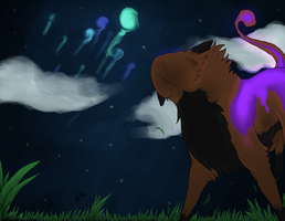 .:New Moon Fireworks:.-Trade by WolfFlame12
