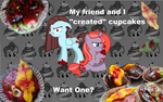 Cupcakes! want one? by JustMeMerel