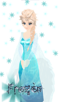 MMD - Elsa from [Frozen] by ynn016