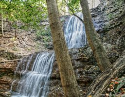 Sherman Falls Waterfall 1 by FreeMindsSanctuary