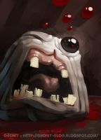 Monstro - the binding of Isaac by Gromy