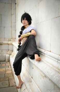 Judal, Sitting down here by hakucosplay