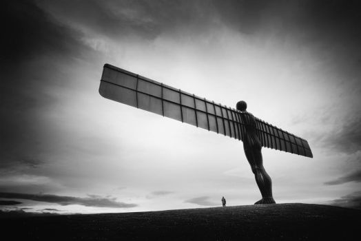 angel of the north.. by almiller