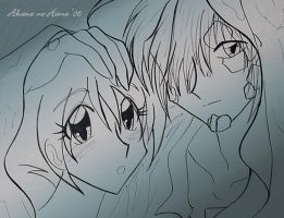 Zel and Ameria in the Rain by akane-no-Hime