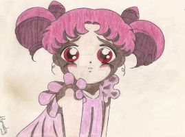 Chibi Chibi-Usa by MistyQue