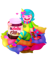 Trickster Roxy x Nutella lol by Animalice