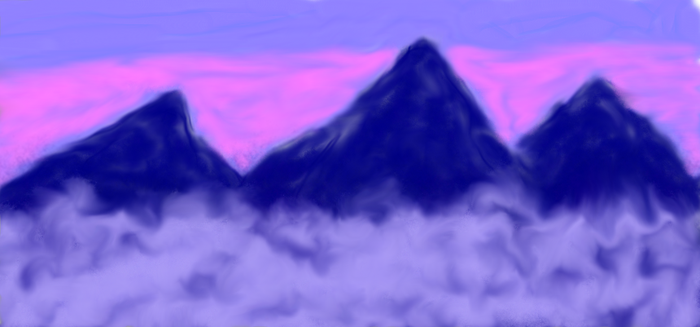 The Misty Mountains. by dragonkiss114