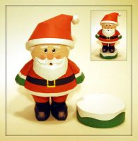 Santa Papercraft by PaperBuff
