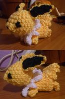 Amigurumi jolteon by Ayinai