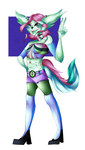 -SpeedPaint Commission- Cecillia -Dashie3333- by xlemany