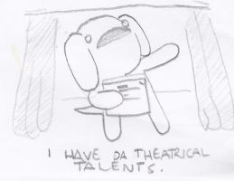 The Journey to Happyness - Theatrical Talents by cagstoon