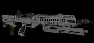 AR-558 Bullpup WIP 2 by Jon-Michael-May