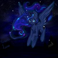 Princess luna by Prodigymysoul