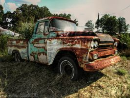 Abandoned Apache by AndrewCarrell1969