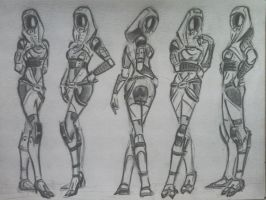 sketches Tali (48) by spaceMAXmarine