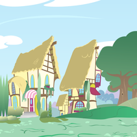 Ponyville Outskirts - Morning Light by GatesMcCloud