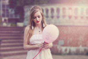 Pink Baloon by WildObsession