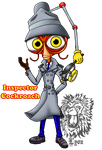 Inspector Cockroach by TheDocRoach