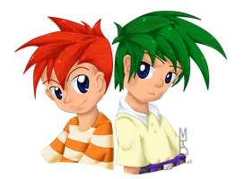 Phineas y Ferb Anime Version by LafiLoyahl