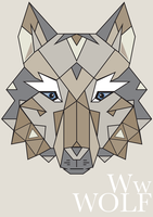 W is for Wolf by iCHRYST