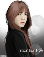 Yoon Eun Hye by thinkwithoutlimits