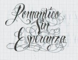 Romantico Sin Esperanza by 12KathyLees12